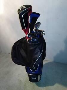 X-Tech XT700 Golf Set + Callawy RAZR X Black Driver + 32 balls Rockdale Rockdale Area Preview