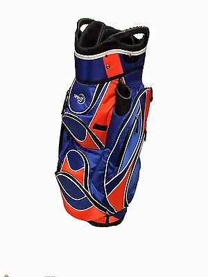 Easy Play  Golf Cart Bag  Blue Orange