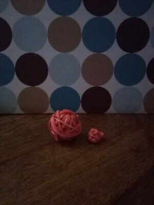 Orang Medium Rubber Band Ball Comes With A Extra Small Rubber Ball Just Balls