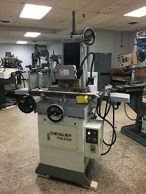 6 X 18 Chevalier Fsg-618m Hand Feed Surface Grinder New 2006