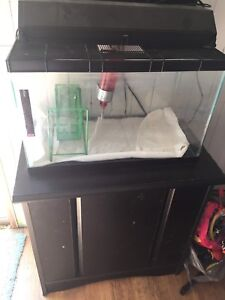 10 gal tank with stand