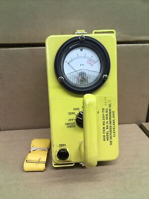 Civil Defense Victoreen Instrument Cdv-715 Model 1a Radiation Detector 156438
