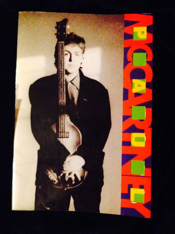 PAUL McCARTNEY 1989 FLOWERS IN THE DIRT TOUR CONCERT PROGRAM TOUR BOOK