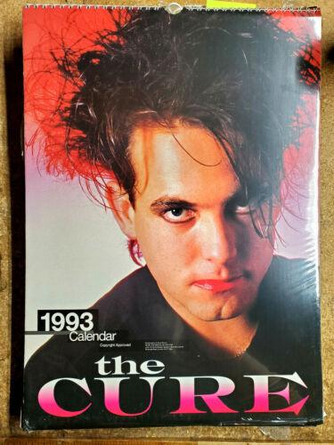 """2021=1993 The CURE  UK Calendar-12 Large Color Prints- 12""""x16"""" (FW-93-16)"""