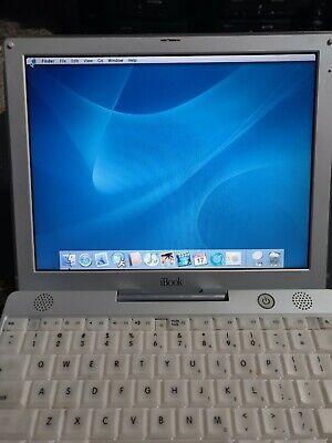iBook G3 M6497 500mhz 128MB OS 9.2 & OSX 10.3
