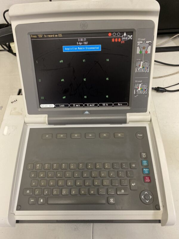 GE MAC 5500 ECG EKG Analysis System
