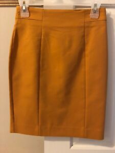 Brand new Butterscotch color short skirt size 4 from H&M