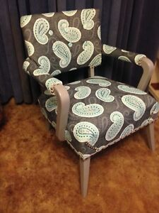 Gorgeous Vintage Reupholstered Chair