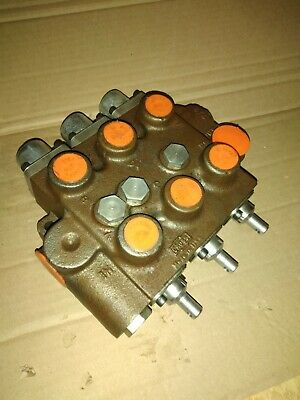 Cross Hydraulic Control Valve 4z0009 - Triple Spool