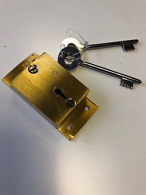 Chubb post box lock and 2 keys