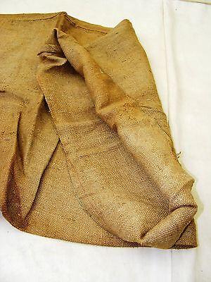 Beautiful Age Jute Bag Bag Sack Farmer Fabric Bag Linen Bag