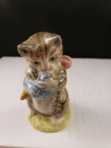 "Beatrix Potter Beswick England MISS MOPPET Figurine 3 1/2""h"