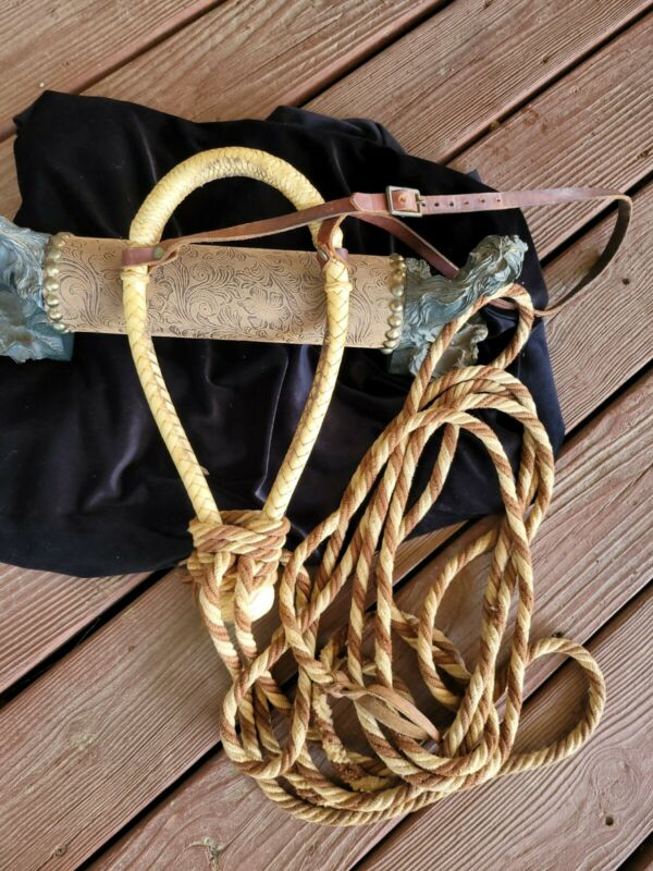 Bosal and Mecate Estate piece Hard nose old school. Excellent condition.