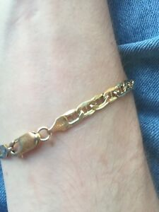10k solid gold michael hill bracelet