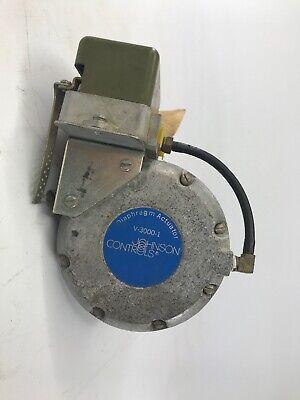 Johnson Controls V-3000-1 Diaphragm Actuator Valve 1  V30001
