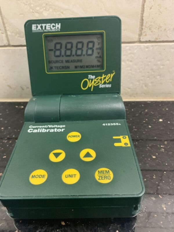 THE OYSTER 10 SERIES pH/mV EXTECH INSTRUMENTS TEMPERATURE METER