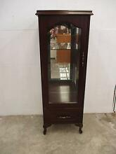 C17021 Lovely Queen Anne Slimline China Display Cabinet Unley Unley Area Preview