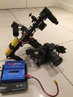 DSLR brushless gimbal suitable for mirrorless or 5D 3/4