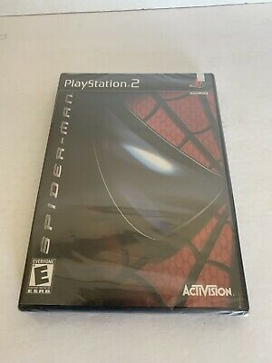 Spider-Man (PS2, Sony PlayStation 2) Sealed New