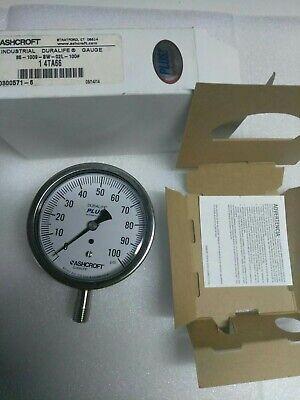 ASHCROFT Pressure Gauge 35-1009-SW-02L-100#