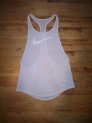 Nike White Vest Women's Training Size Small