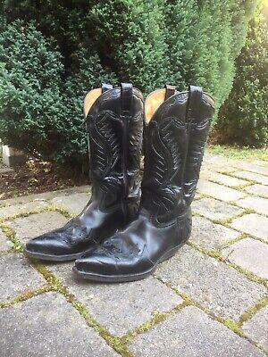 Stiefel  Sendra  Cowboy Stiefel  Gebraucht - Herren Stiefel Schwarz