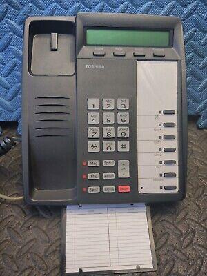Toshiba Digital Dkt-3007-sd Office Display Phone Dkt3007 Telephone Very Nice