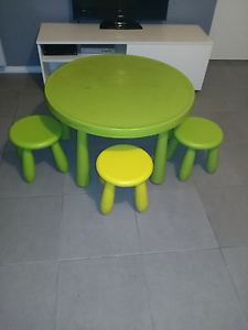 Ikea Kids and and chairs Seaford Rise Morphett Vale Area Preview