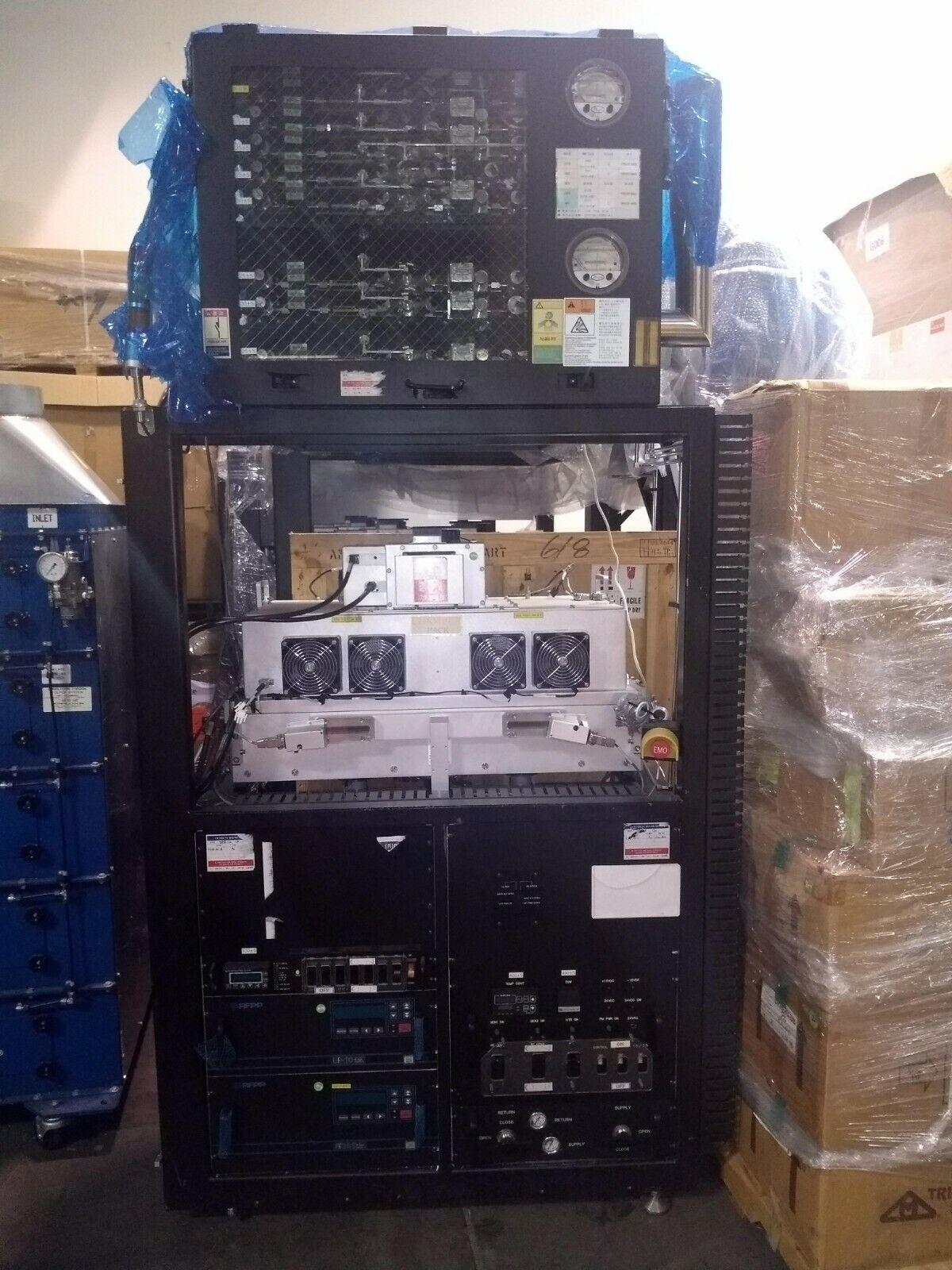 Mattson Rear Chamber MFC Gas Box, RF30S, AE LF-10 RF Generator Trazar, 451091