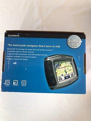 Garmin Zumo 550 Motorcycle GPS Extras B