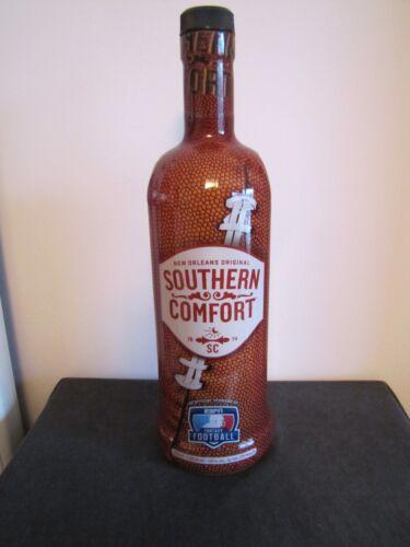 *Rare* SOUTHERN COMFORT - ESPN Fantasy Football - NFL Bottle (No Alcohol)