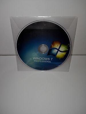 WINDOWS 7 PROFESSIONAL (PRO) PRODUCT KEY RETAIL + DVD - 32/64BIT -
