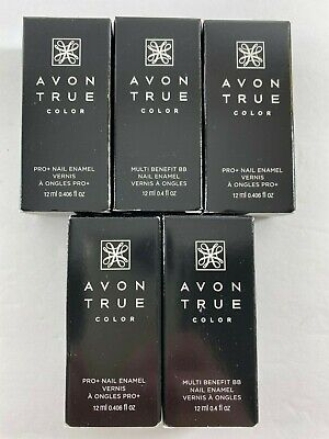 AVON True Color Nail Enamel .4 fl oz. YOU CHOOSE SHADE