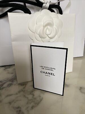 "CHANEL LES EXCLUSIFS ""GARDÉNIA » Mini Spray 1,5 Ml EAU de PARFUM NEUF"