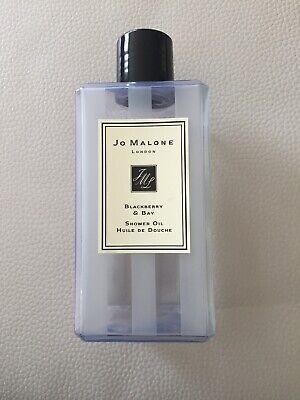 Jo Malone Blackberry and Bay shower oil 250ml Empty