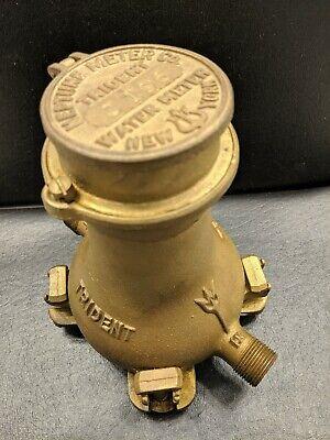 Antique Neptune Meter Co. Trident Water Meter New York