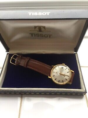 Vintage Tissot Seastar Seven Visodate Watch 1960,s , original crown and box VGC