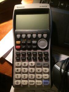 Casio fx9860 calculator