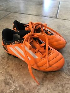 Kids soccer shoes Adidas size 10