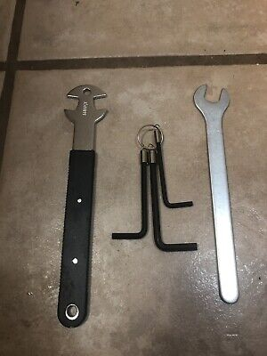 5-Piece Bicycle Tool Kit-Raleigh-Pedal Wrench, Allen Keys-Road Bike,BMX