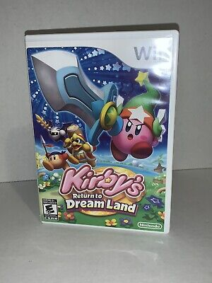 Kirby's Return to Dream Land (Nintendo Wii, 2011) Tested Complete Free Shipping