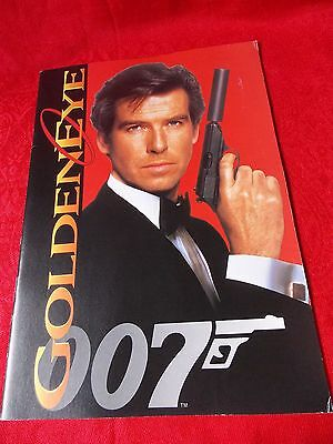 1995 Vintage! 007 James Bond GOLDENEYE Japanese Cinema Program / UK DESPATCH
