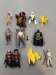Star Wars figures 7/9