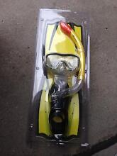 SAVE $$$ brand new flipper and snorkel set Templestowe Manningham Area Preview