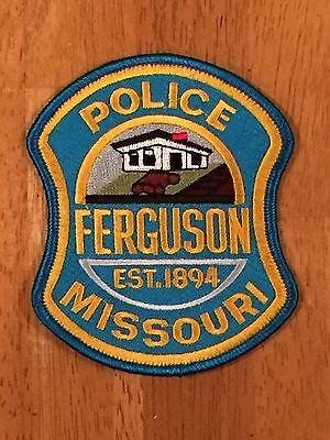 Ferguson Missouri Police Department Uniform Patch (Current Style)