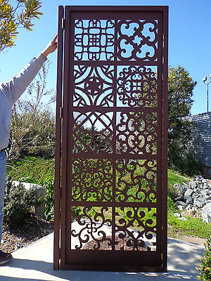 Iron Gate Estate (Metal Art Gate Ornamental Estate Designer Custom Wrought Iron Garden Steel  )