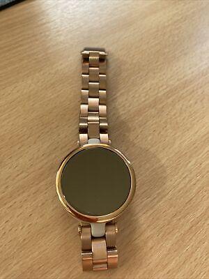 Garmin Lily Smart/Fitness Watch Rose Gold & Light Sand with Rose Gold Bracelet