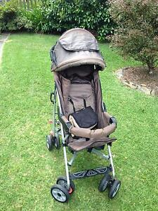 Steelcraft EDEN fold up stroller - great for travelling New Lambton Heights Newcastle Area Preview