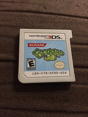 Frogger 3D (Nintendo 3DS, 2011) Cart Only -Tested