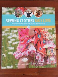 Book of sewing patterns
